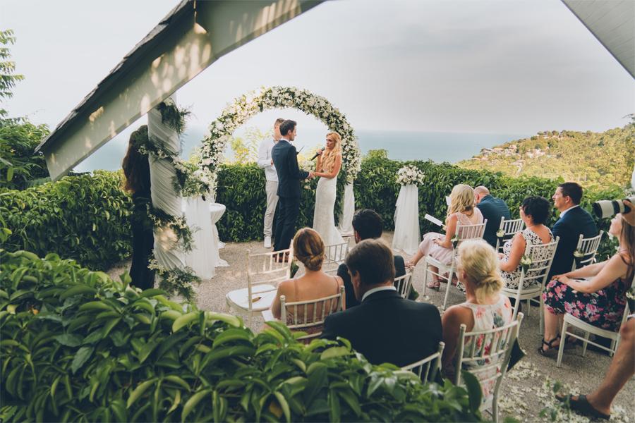 Villen Hochzeit auf Koh Samui