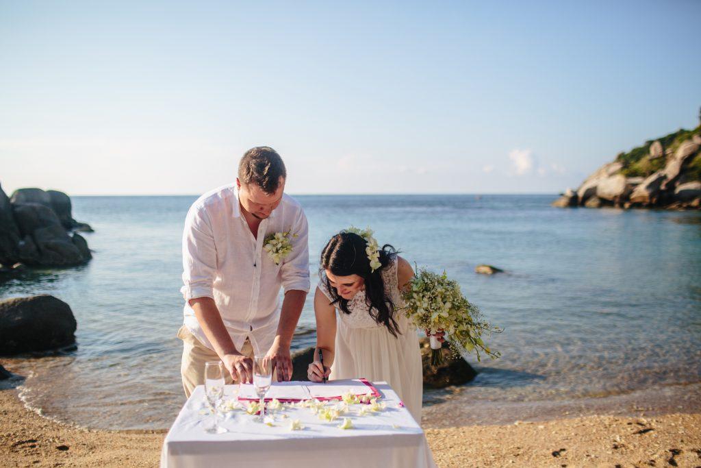 Rechtsgültige Eheschließung Thailand