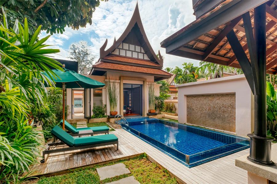 Banyan Lagoon Pool Villa Exterior 2- Banyan Tree Phuket -web